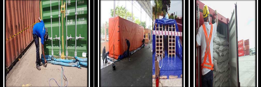 FUMIGATION OF CONTAINERS